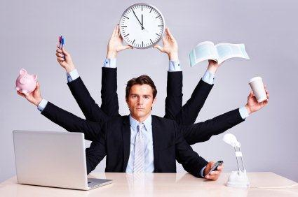 Productivity despite workplace distractions